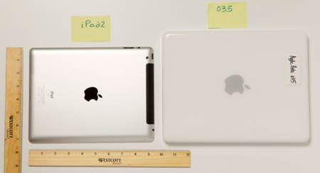 Prototipo 035 de Apple (2002) vs iPad 2 (2011)