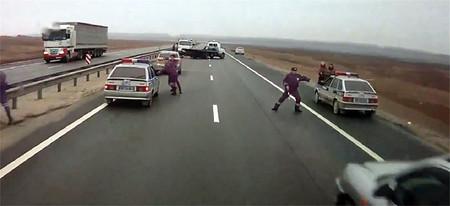 Hay gente con mucha suerte (LXXXVII). El camionero despistado y los policias despreocupados
