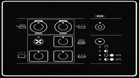 Aga Icontrol panel mandos