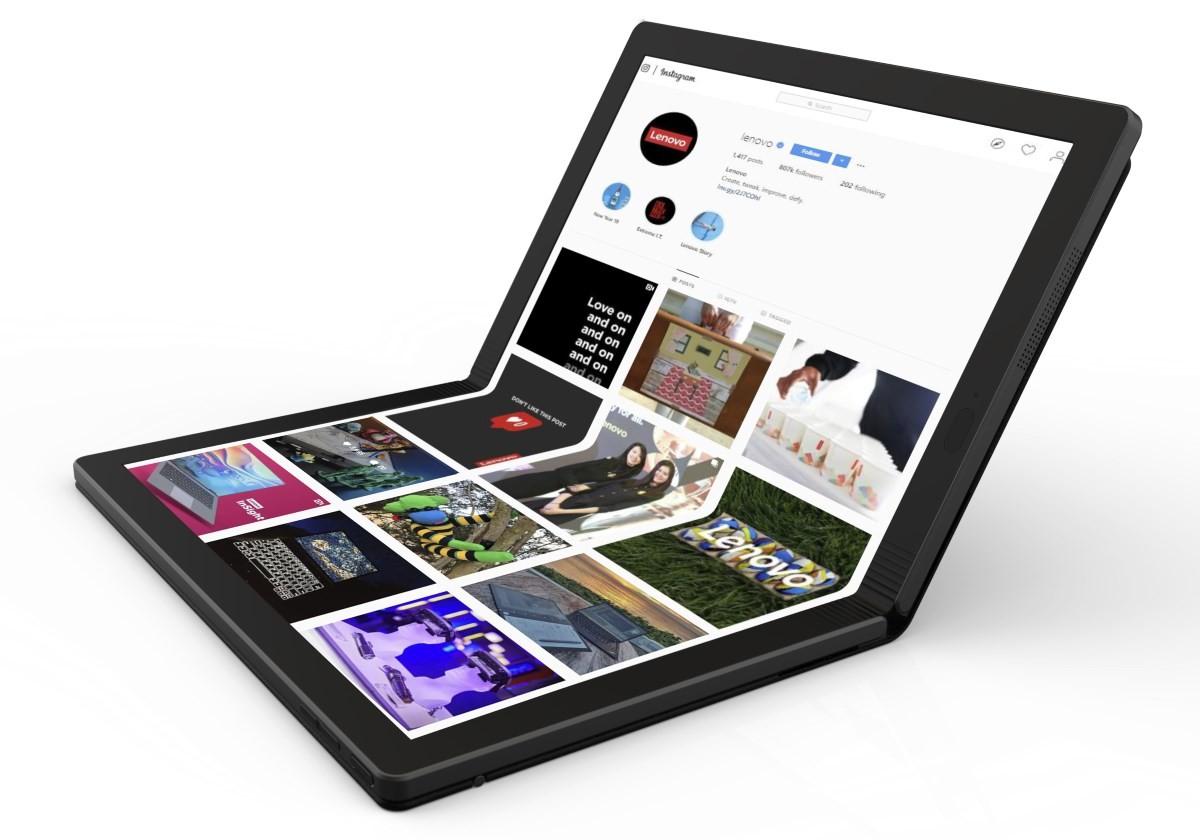 El futuro se dobla: así es el primer PC del mundo con pantalla plegable y es de Lenovo