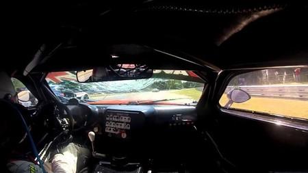 Los Ginetta G55 GT3 están hechos a prueba de puertas voladoras