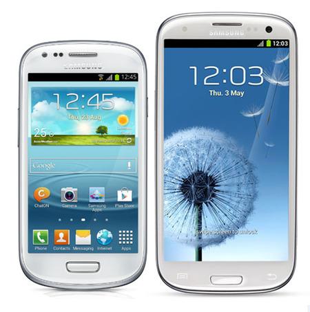 Samsung Galaxy SIII Mini, en comparativa con el buque insignia Galaxy SIII