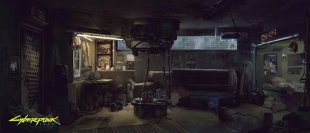 Apartment Concept Art 2077