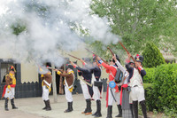 La batalla de la Albuera de la Guerra de la Independencia, se repite cada año en Badajoz