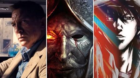 13 estrenos y lanzamientos imprescindibles para el fin de semana: 'Sin tiempo para morir', 'New World', 'Alice in Borderland' y mucho más