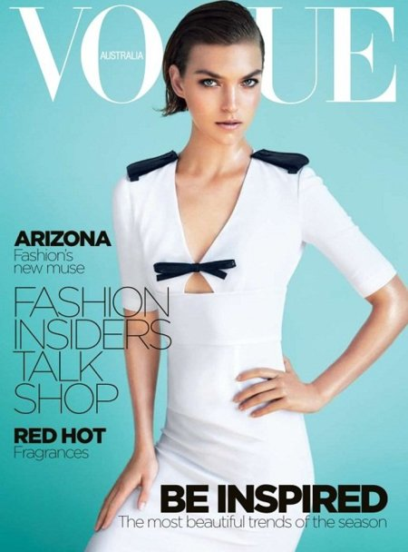 En el séptimo cielo con Arizona Muse (y Vogue Australia)