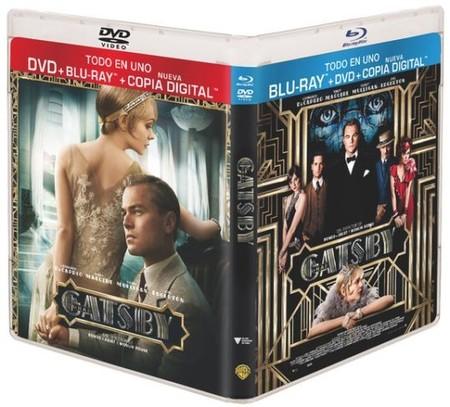 'El gran Gatsby', la nueva versión con DiCaprio ya a la venta en Blu-ray y DVD