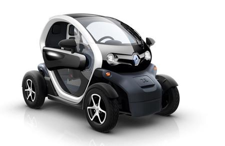Renault Twizy negro