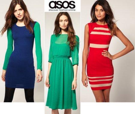 Asos shopping vestido