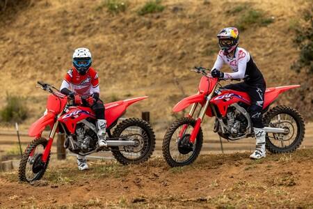 Honda CRF250R y CRF250RX