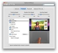 El trackpad multitactil del MacBook Air está basado en software