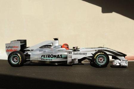 Michael Schumacher se muestra optimista en relación a los neumáticos Pirelli
