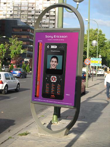 Sony Ericsson W880i: campaña Mi Momento de Fama