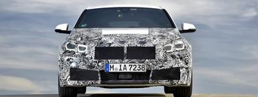 ¡Sin camuflaje! El BMW Serie 1 2020 se quita la sábana antes de tiempo