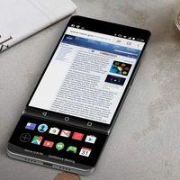 LG V30: este render nos muestra su posible diseño con una pantalla secundaria deslizable
