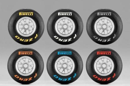 Pirelli estudiará cambios en su código de colores