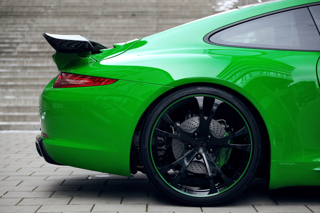 Foto de Porsche 911 Carrera 4S por TechArt (22/32)