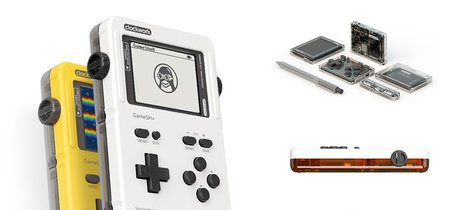 Gameshell es una consola portátil para makers