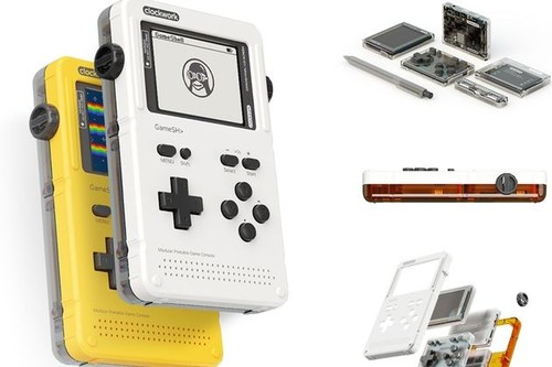 Gameshell es una consola portátil para makers