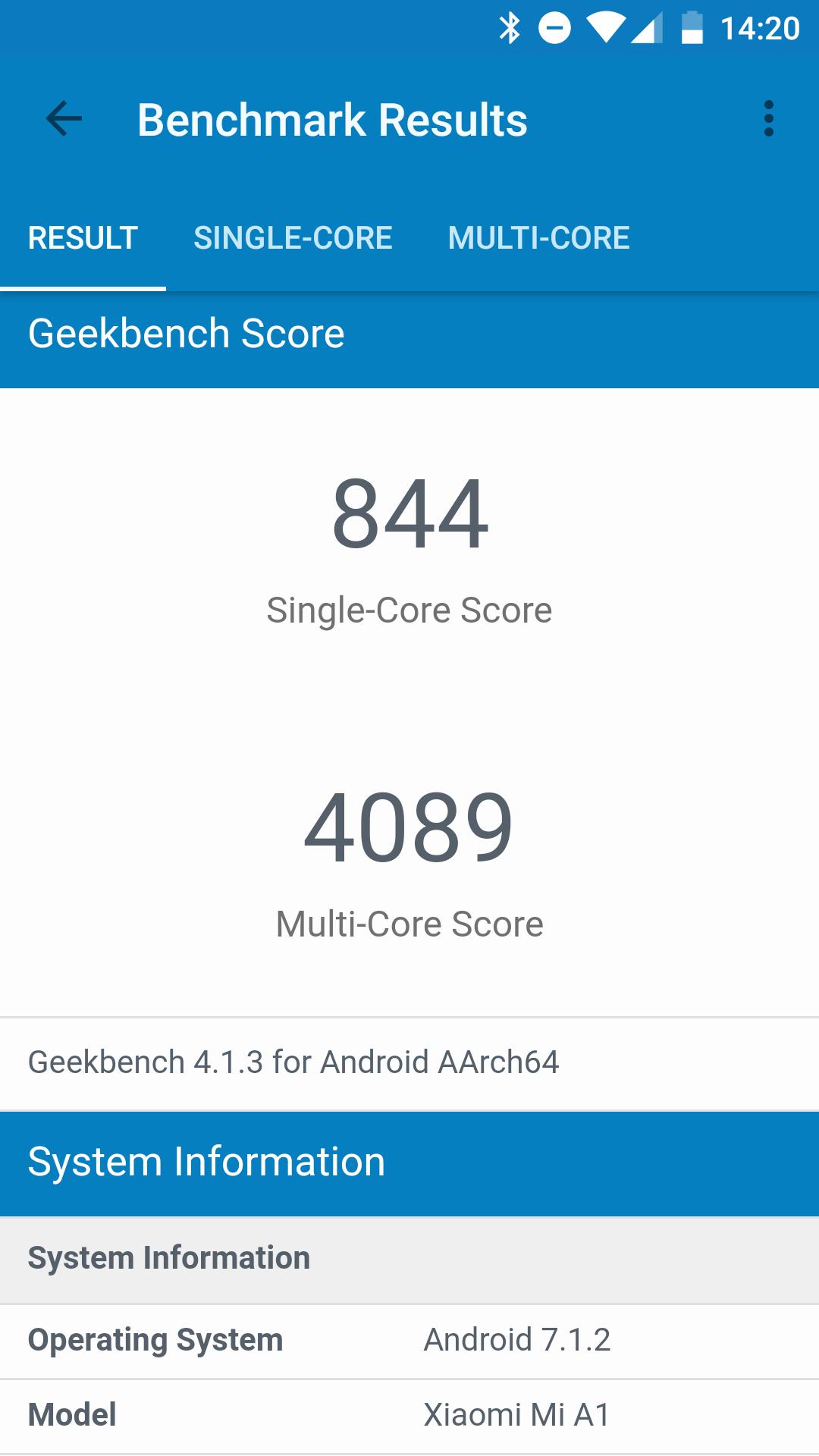 Foto de Benchmarks del Xiaomi Mi A1 (10/19)
