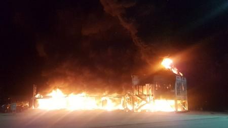 Un incendio en el circuito de Jerez destruye todas las MotoE y arruina el campeonato de motos eléctricas