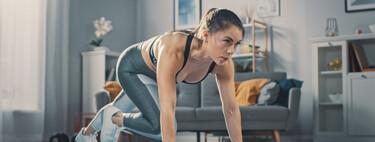 Un entrenamiento Tabata para hacer en casa y trabajar todo tu cuerpo