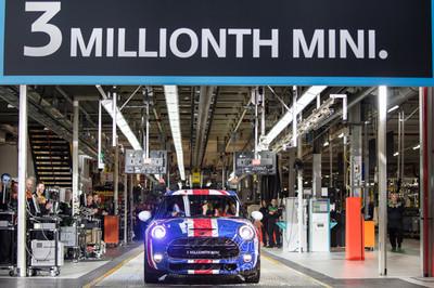 Tres millones de MINI producidos