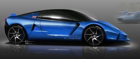 Bluebird lanzará el DC50, un superdeportivo eléctrico