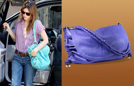 El bolso de Tod's de Rachel Bilson