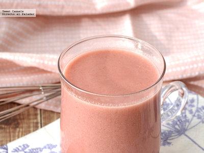Chocolate caliente con frambuesas. Receta para el Día del Amor y la Amistad