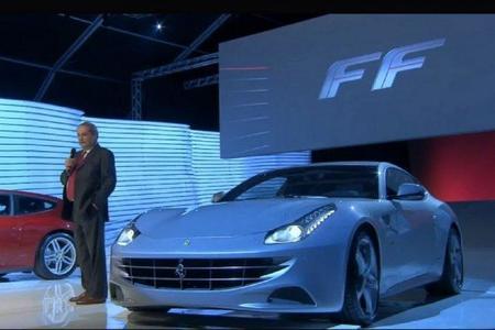 Ferrari FF, puesta de largo en Maranello
