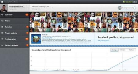 Secure.me, analiza tu cuenta de Facebook en busca de amenazas