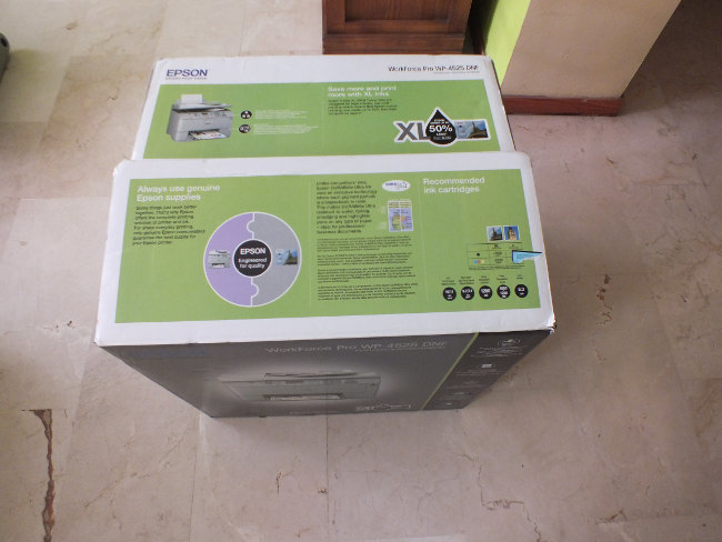 Foto de Unboxing Epson Work Force Pro (1/16)