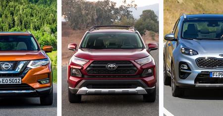 Toyota RAV4 vs. Nissan X-Trail vs. KIA Sportage: analizamos al RAV4 frente a dos rivales muy fuertes