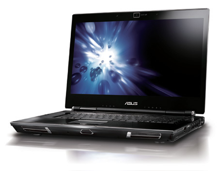 Asus W90, diseño y potencia