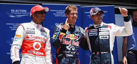 Sebastian Vettel se hace con la pole en el Gran Premio de Europa