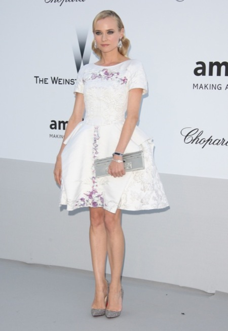 Diane Kruger Gala amFar 2012 Cannes