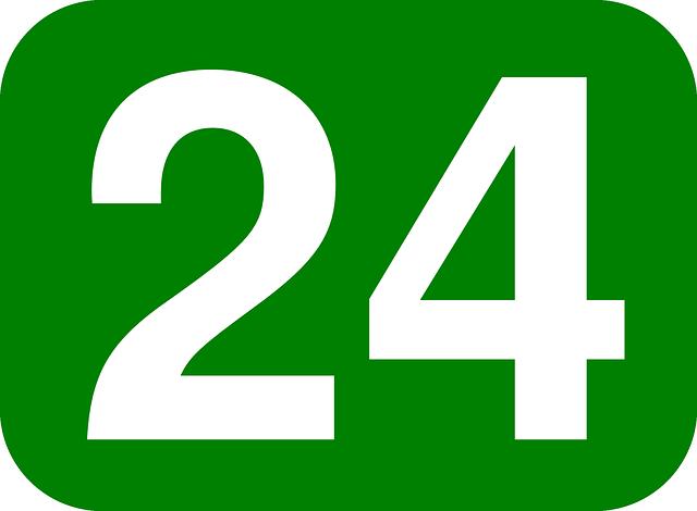Número 24.