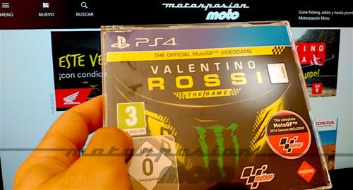 ¿Quieres un Valentino Rossi The Game para PS4 por la cara? Pues participa en nuestro concurso