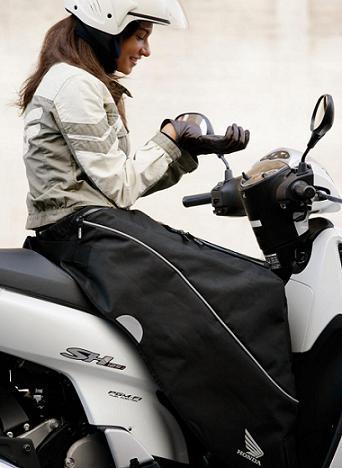 'Manta Honda Scooter' para protegerse del invierno