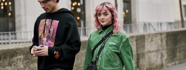 Hailey Bieber y Maisie Williams se baten en duelo: ¿vuelven las melenas de color de rosa?