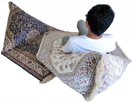 Las alfombras mágicas de Nathan Yong