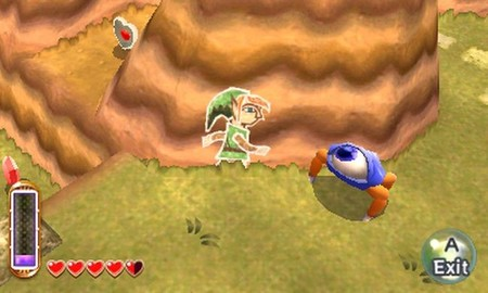 'The Legend of Zelda: A Link Between Worlds' rompe con el esquema de los objetos