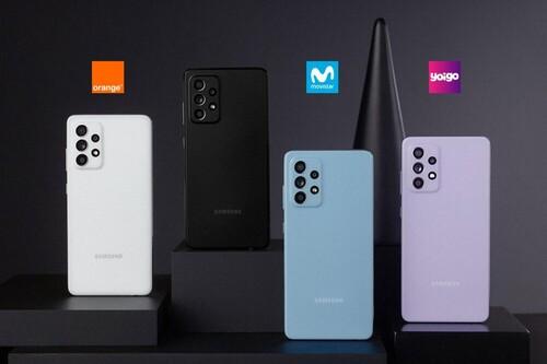 Dónde comprar el Samsung Galaxy A52 5G más barato: comparativa ofertas con Movistar, Vodafone, Orange y Yoigo
