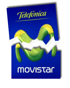 Caída de la red de Movistar en Levante