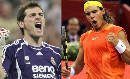 El partidazo de Iker Casillas y Rafa Nadal contra la malaria
