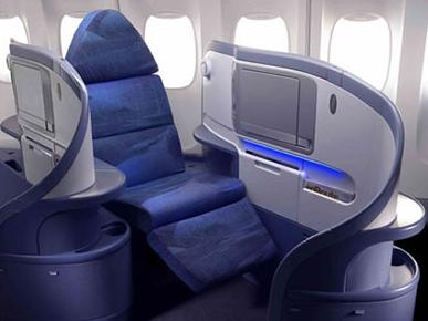 Airbus A350, con reproductor multimedia en los asientos