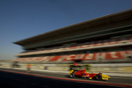 Di Grassi manda en los test de GP2 en Barcelona