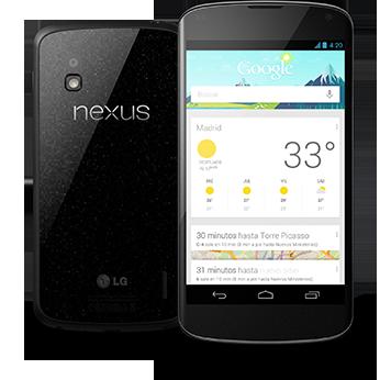 Nexus 4, toda la información del nuevo Android de Google