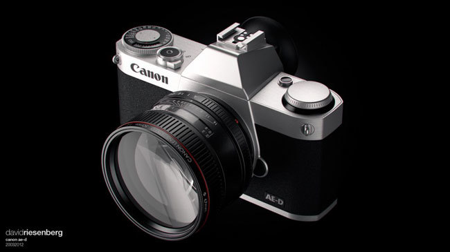 canon mirrorless camera concept